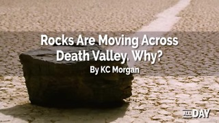 The mystery of the moving rocks - Video