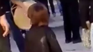 Kid is Dancing instead of mourning - Video