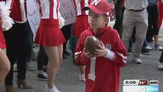 Boy defies the odds to join Husker football - Video