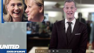 US of Europe: Is Hillary most likely to stalk Merkel? - Video