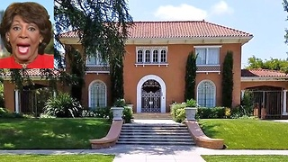 Maxine Waters lives in $4.5 million mansion outside her Congressional district - Video