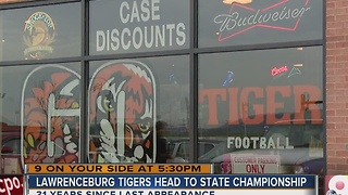 Lawrenceburg Tigers' run at Indiana state championship has town abuzz - Video