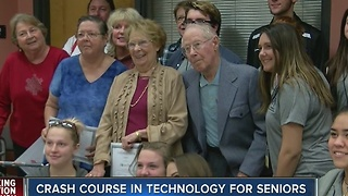 Seniors learn how to avoid being scammed online - Video
