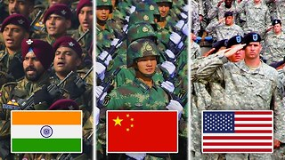10 Most Powerful Militaries In The World - Video