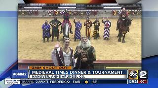Good morning from Medieval Times Dinner & Tournament in Hanover - Video