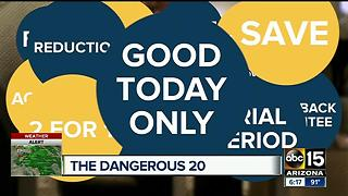 How to avoid consumer 'Dangerous 20' - Video