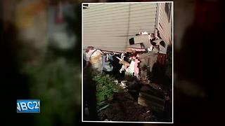 Bellevue man charged after allegedly crashing truck into home - Video