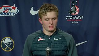 12/29 Mittelstadt sounds off on win vs. Canada - Video
