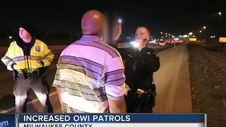 Increased OWI patrols during New Year's weekend - Video
