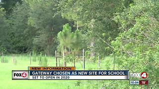 Lee County School District chooses location for new high school - Video