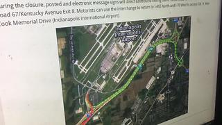 Lots of road closures and construction going on in central Indiana this weekend - Video