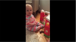 Baby gives epic response to diaper change suggestion - Video