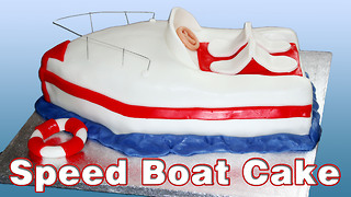 How to make a speed boat cake - Video