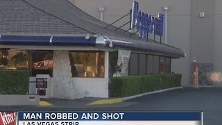 Man shot in leg near Peppermill restaurant - Video