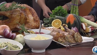 Chef Tory Martindale cooks Thanksgiving dinner - Video