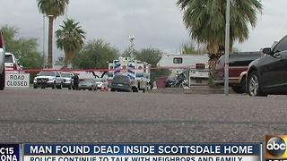 Murder investigation continues at Scottsdale home - Video