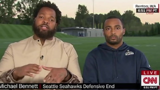 Michael Bennett Issues Challenge To All Americans - Video