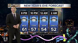 Warm temps for the Valley New Years weekend - Video