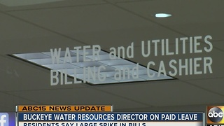 Buckeye water director placed on administrative leave - Video