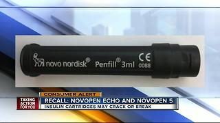 Novo Nordisk recalls faulty cartridge holders in insulin pens due to potential health risks - Video
