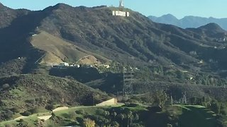 Hollywood Hills Sign Defaced to Read 'Hollyweed' - Video
