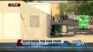 BURRO FIRE: Sustaining the fight - Video