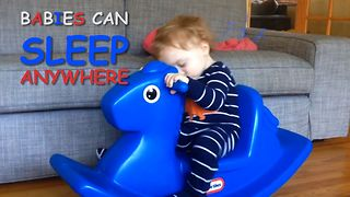 8 Babies Who Can Sleep Anywhere - Video