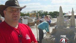 Annual FMB sand sculpting competition - Video