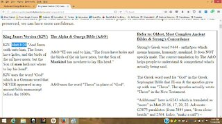 Most Accurate Bible Translation, Alpha & Omega Bible, NOT KJV