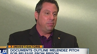 Melendez pitch for release - Video