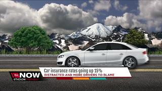 Car insurance rates going up 15%