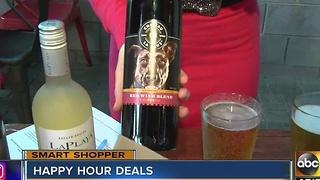 Smart Shopper: Best Happy Hour deal's around the Valley - Video