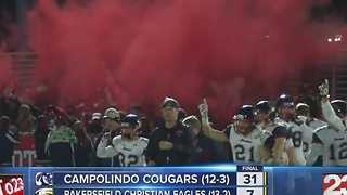 BCHS falls 31-7 in state championship to Campolindo - Video