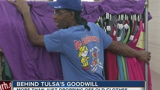 Goodwill Industries: More than just dropping off old clothes - Video