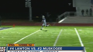 Lawton vs Muskogee - Oklahoma High School Football - Video