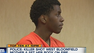 Teen charged in murder of West Bloomfield woman - Video