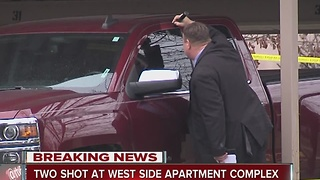 two shot at west side apartment complex