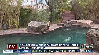 Neighbors hope to turn area into Airbnb haven - Video