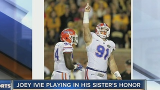 Football Becomes a Form of Therapy for a Florida Gator Football - Video