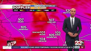 Last day of heat watches for Kern County! - Video
