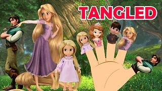 Finger Family TANGLED 2016 - Video