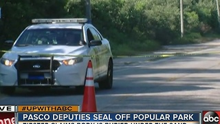Search underway for body at Green Key Park - Video