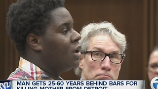Man gets decades in prison in Detroit mother's murder - Video