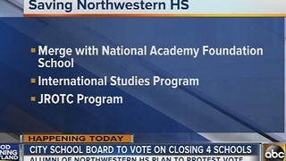 School board to vote on closing 4 city schools - Video