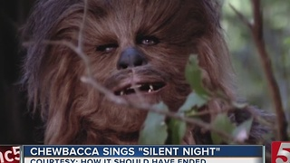 Chewbacca Sings