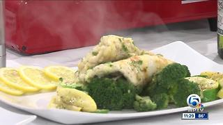 Romeo's cooks free range chicken francaise - Video