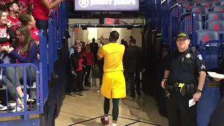 RAW VIDEO: ASU's Torian Graham flips off the ZonaZoo - Video