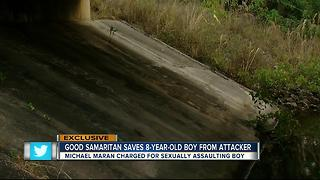 Sheriff: Good Samaritan saves child getting sexually molested underneath a bridge - Video