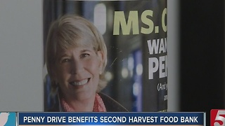 Annual Penny Drive Held To Combat Hunger - Video