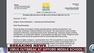 Norovirus outbreak at Gifford Middle School in Indian River County